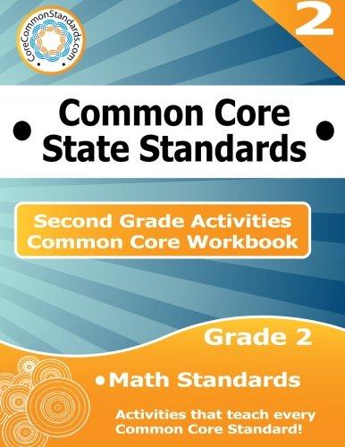 Second Grade Common Core Workbook: Math Activities
