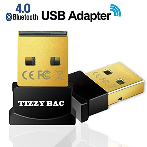 USB nano Bluetooth-Adapter V4.0 mit LED - Version 4.0 Technologie - neuester Standard - Plug & Play - Windows 10 fähig