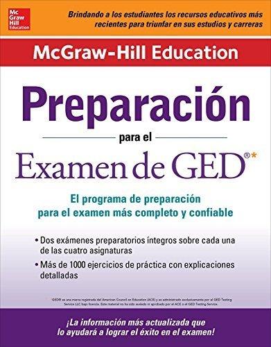 Preparación para el Examen de GED (Spanish Edition) by McGraw-Hill Education Editors (2015-12-28)