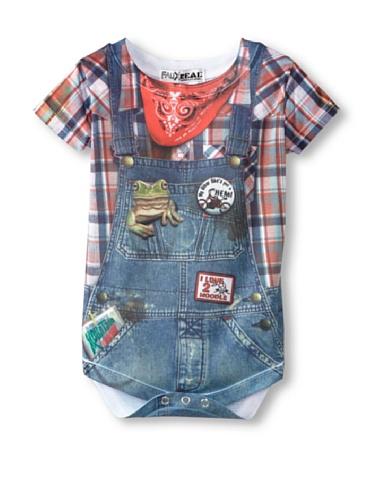 Faux Real Tees Aus echten Hillbilly Baby Kostüm