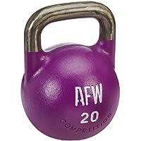 AFW 105152 - Kettlebell 12 kg, Color Azul, Talla M