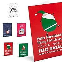 Felicitaciones de Navidad Unicef Pack de 10 tarjetas colección Snow