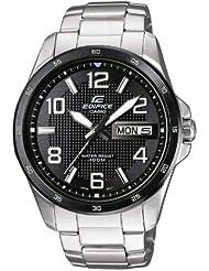 Casio Herren-Armbanduhr XL EDIFICE Analog Edelstahl EF-132D-1A7VER