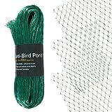 Asab Gartenteichabdeckung, strapazierfähiges Netz für Fischteich, zum Schutz vor Vögeln, Füchsen, 4 x 10 m, in Grün