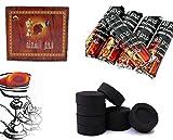 Shine - Pastillas de carbón para narguile, Shisha, pipa de fumar, 100 unidades