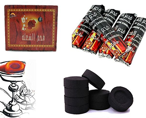 shine-100-charcoal-coal-discs-for-shisha-hookah-smoking-pipe-flame-light