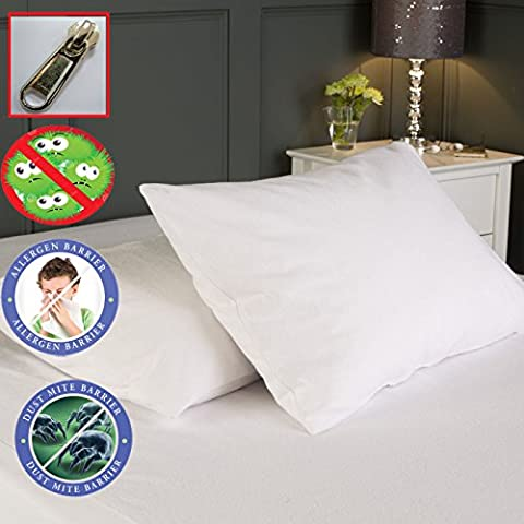 Buy 1 Get 1 Free Pillow Protector Bed Bug Proof Water Resistant