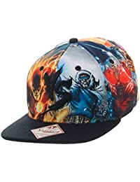 DC Comics Multi Character Good vs. Evil Snapback Baseball Cap