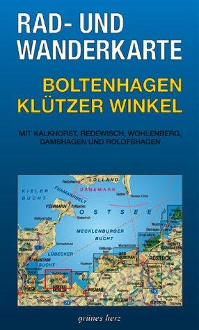 Rad- und Wanderkarte Boltenhagen - Klützer Winkel: Mit Klakhorst, Redewisch, Tarnewitz, Damshagen und Warnow. 1:30.000