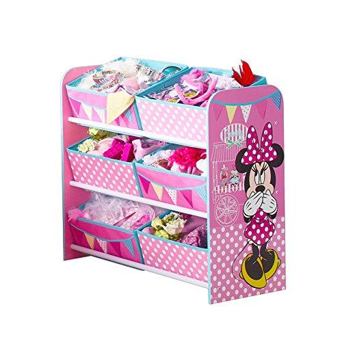 Disney 471INN - Unidad de almacenamiento para niños con diseño de Minnie Mouse, color rosa