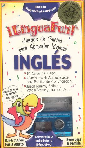 English/Spanish Card Games: Language Learning Card Game (LinguaFun Family) por Donald S Rivera