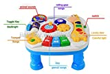 #10: Sunshine Learning and Fun Activity Table + Multi-skill Educational Toy + Music and Lights