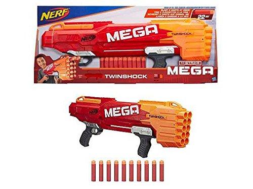 Fusil Nerf N-Strike Mega twinshock Juegos Juguete Idea regalo # AG17