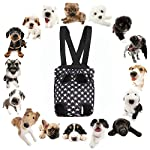 AF-WAN Pets Dog Cat Puppy Carriers Travel Tote Shoulder Bag Sling Carrier Backpack Fit Easy-Fit for Traveling Hiking and… 9
