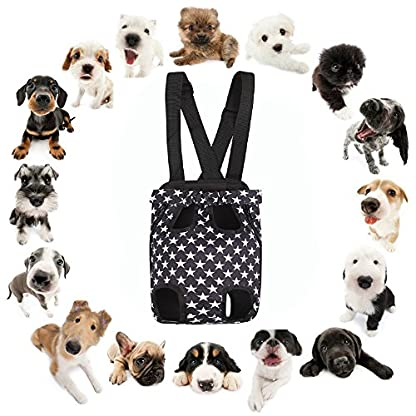 AF-WAN Pets Dog Cat Puppy Carriers Travel Tote Shoulder Bag Sling Carrier Backpack Fit Easy-Fit for Traveling Hiking and… 4