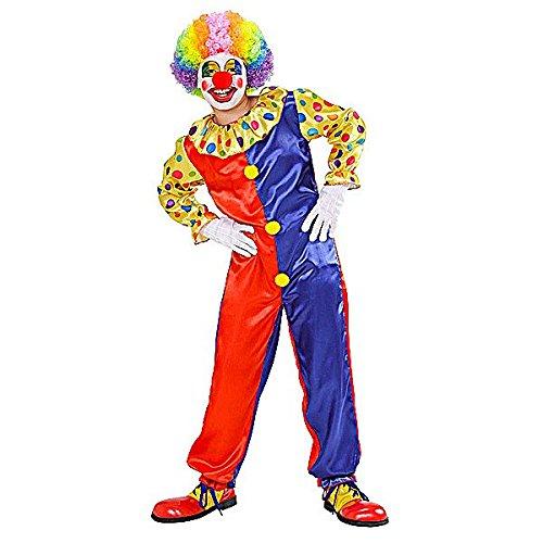 Kostüm Kid Clown - Clown - Childrens Kostüm - Large - 158cm