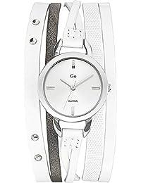 Go Girl Only Damen-Armbanduhr 698532 Analog Quarz Weiß 698532