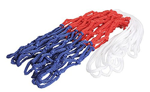 SaySure - thick 5mm Red White Blue Basketball Net Nylon