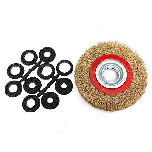 saver-spazzola-ruota-filo-di-acciaio-150-millimetri-e-adattatore-anelli-6-pollici-per-smerigliatrice