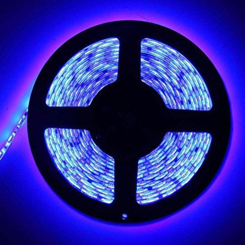 60cm Lichtleiste Lampe, mamum 60cm 505036LED Flexible Streifen Licht Lampe für PC Computer Fall DC 12V Wasserdicht Einheitsgröße blau