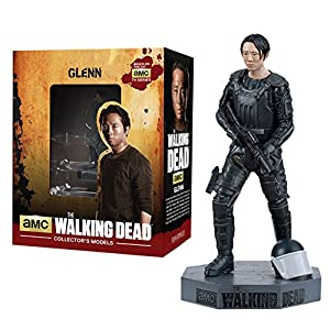Figura de plomo y resina The Walking Dead Collector's Models Nº 7 Glenn 6