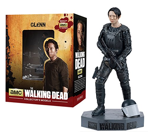 Figura de plomo y resina The Walking Dead Collector's Models Nº 7 Glenn 1