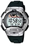 Casio Collection Herrenuhr Digital mit Resinarmband – W-753-1AVES