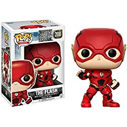 Funko Pop!- Pop Movies: DC Figura de Vinilo The Flash, colección Justice League, (13488)