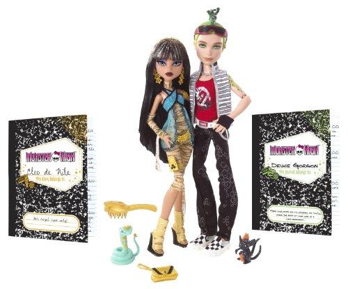 Mattel N2854 - Monster High PuppeCleo und Puppe Deuce, (Deuce Gorgon High Monster)