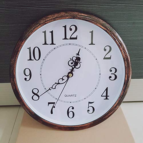 Tosnail 30 cm Orologio da Parete di Silenzioso Stile Vintage Decorazione a Muro - 6