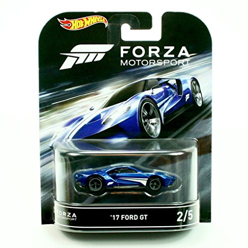 Preisvergleich Produktbild 2017 Ford GT Forza XBOX 1:64 Hot Wheels Retro Entertainment DJF50