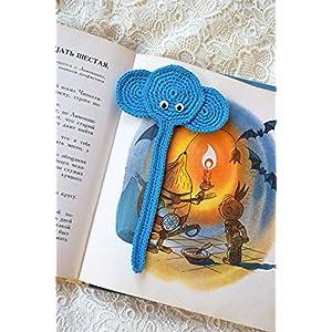 Häkeln Lesezeichen Elefanten gehäkelt Kinder Tier Lesezeichen Zurück zu Schule Buch Liebhaber Geschenk Planer lesen Zubehör Lehrer Geschenk Kind Geschenk Kinder Geschenk Freundin Geschenk Freund Geschenk
