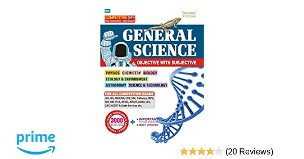 Buy General Science for competitive Exams (Objective