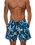 Best Mens Bathing Suits - Mens Quick Dry Swimwear Swimsuits Flower Print Surf Review