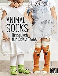 Animal Socks: Tiersocken für Kids & Teens