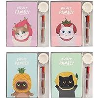 Preisvergleich für Tery Geschenk Sparschwein 3 Teile / Satz Delicate Cat Taschenbuch Geschenk Set Kreative Memo Notebook Set (Zufällige Farbe)