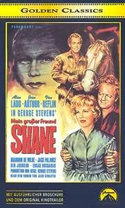 Mein großer Freund Shane [VHS]: Alan Ladd, Jean Arthur