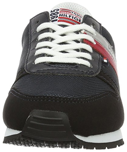 Tommy Hilfiger Unisex-Kinder J3285aimie 16c Low-Top Blau (Midnight 403)
