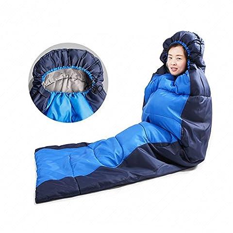 Mummy Sleeping Bags (Blue +