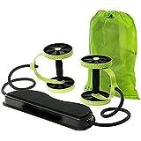 Skycandle Sky Fitness Revoflex Ab Care Xtreme Resistance Exerciser (Green and Black)