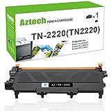 Aztech 1 Pack Kompatibel für Brother TN 2220 TN2220 TN-2220 Toner for Brother MFC 7360N MFC-7360N Toner Brother FAX 2940 FAX-2940 FAX 2845 FAX-2840 FAX 2840 HL 2250DN HL 2240 MFC 7460DN Toner Drucker