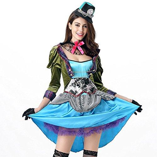 Imagen de hallowmax disfraz de halloween de mujeres, el sombrero loco de alicia