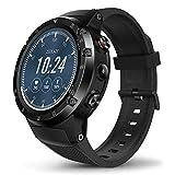 Zeblaze Thor 4 Plus Smartwatch, Reloj Inteligente 4G Android 7.1 Quad Core 1G + 16G con cámara de 5MP GPS Smartwatch para Hombres (Negro)