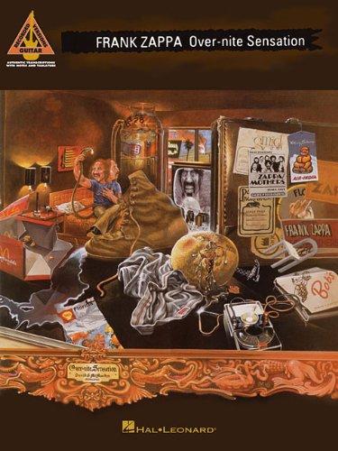 Frank zappa - over-nite sensation guitare (Guitar Recorded Versions)