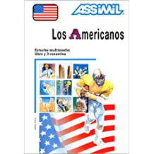 Los Americanos (1 livre + coffret de 3 cassettes) (en espagnol)