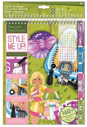 Fashion Designer Sketchbook (Wooky Designer Studio Sketchbook - Purse by Wooky)