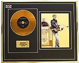 Everythingcollectible George Michael/Mini Metal Gold Disc & Photo Display/ÉDITION LIMITÉE/COA/Faith