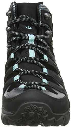 Merrell Chameleon Shift Mid Gore-Tex, Chaussures Bébé Marche Femme Noir (Black/Adventurine)