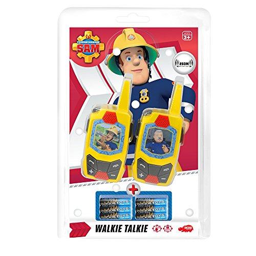 Preisvergleich Produktbild Dickie-Spielzeug 203093002 - Fireman Sam Walkie Talkie
