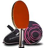 Caleson Table tennis racchetta da ping pong Paddle, inclusa borsa per il trasporto, AA72